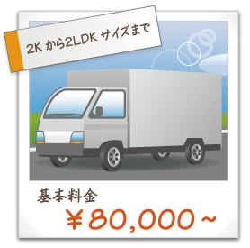 基本料金80000