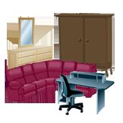 家具の回収品目例