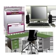 オフィス家具・オフィス用品の回収品目例